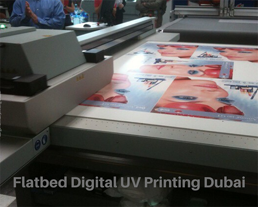 Flatbed Digital UV Printing Dubai